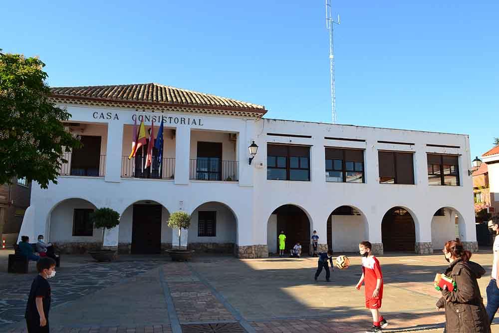Torrejón de la Calzada pueblo de la Palma